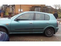 nissan almera . good little run around
