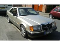 mercedes 230ce pillerless coupe
