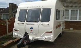 Bailey Unicorn Saville 2 berth Caravan 2011.