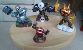 Skylanders Giants Figurines: 3 Giant Characters