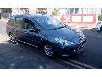 PEUGEOT 307 SW 1.6 HDI TURBO DIESEL LONG MOT PX WELCOME