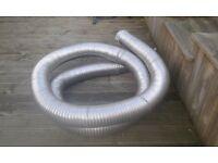 FLUE LINER (6in) stainless steel ,flexi flue for woodburner.