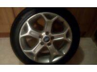"ford Mondeo 17"" alloy wheel"