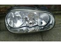 VW Mk4 golf drivers headlight