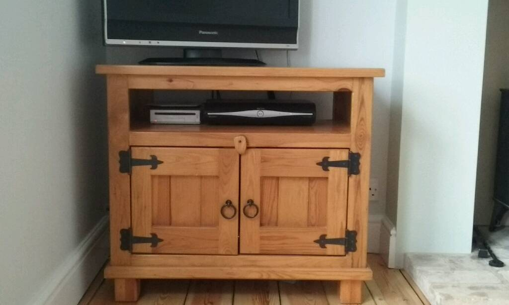 Antique Pine TV Cabinet - Antique Pine TV Cabinet In Ely, Cambridgeshire Gumtree