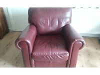 3 seater comfy chunky sofa and chair