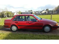 Classic 1990 Volvo 460 petrol auto in good condition.