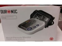 Blood pressure monitor. Duronic