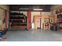 Tyre and exhaust garage