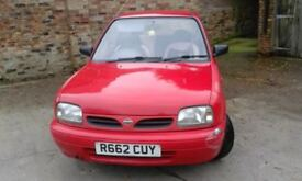 nissan micra 1.0l 1998 spares and repairs NO OFFERS