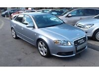 2006/06 Audi A4 2.0 TDI S Line 4dr LOW MILEAGE, AUDI HISTORY, FABULOUS SPEC & DRIVES WELL