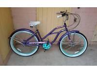 Beach cruser bike