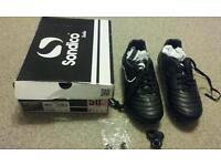 Sondico football boots size 7 UK New in box.