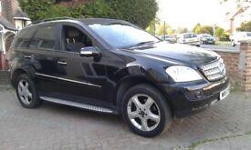 QUICK SALE Mercedes ML 320CDI BLACK SAT NAV