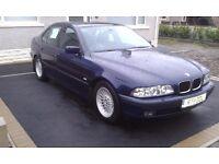 BMW 528i E39 (manual gearbox)