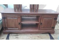CORONA Mexican style solid pine tv stand for sale