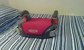 """GRACO"" CAR BOOSTER SEAT"