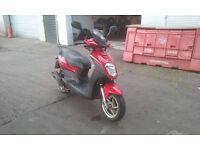 2008 Sym Symply 125cc Scooter, 15,000 Genuine Mile, Long Tax and Test, Ideal Xmas Present
