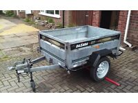 Trailer 5.ft x 3.ft galvanised tipping trailer