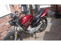 Honley 125cc motorbike