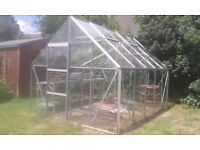 LARGE GREENHOUSE GLASSHOUSE GREEN HOUSE GLASS HOUSE