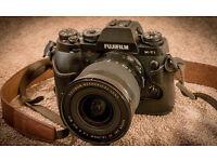 Fujifilm X-T1 Camera + Lenses 18-55 + 10-24 + 55-200 all mint