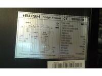 Bush fridge freezer BSFF55174B - cheap for quick disposal