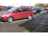 7 seater vauxall zafira 1.6 2006