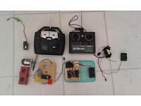 rc controllers servos receiver motor
