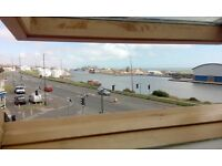 short term let ( as property on sale... ) lovely 3 bed maisonett, southwick sea front.