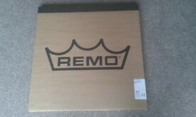 Remo Silentstroke Drumheads 5 drum set boxed Practise Heads Brand / As New