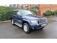 JEEP GRAND CHEROKEE SPORTS AUTO GOOD ENGINE AND GEARBOX.