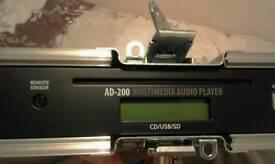 Multimedia audio player