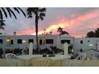 Lanzarote *LARGE, COSY* 1 bed apartment KITCHEN, BEDROOM, BATHROOM, BALCONY, SEA VIEW!!!