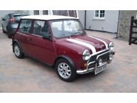 Classic Rover 1992 Mini 1000 cc Maroon Col 3 lady owner low miles- Excellent condition - Original