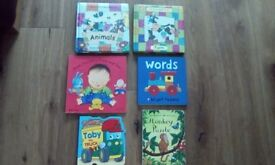 Baby\Toodlers books x6 in Exc Condition