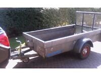 Ifor williams style trailer