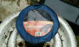 6 m extension lead for trailer
