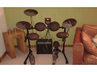 Alesis DM6 electronic drum kit with amp
