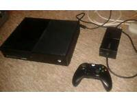 500GB xbox one with box