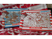 2 x Where's Wally Jigsaw Puzzles. Would Make Excellent Christmas Presents. Only £1.50 Each!!