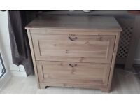Ikea 3 drawer chest