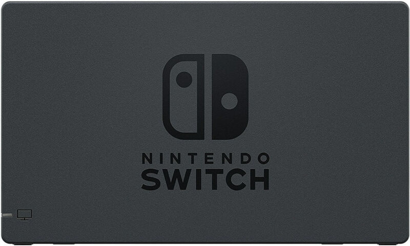 Genuine Nintendo Switch Dock Only -  Black (HACACASAA) - UD