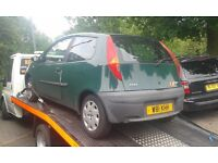 2000 Fiat Punto mk2 1.2 3dr green manual BREAKING FOR SPARES