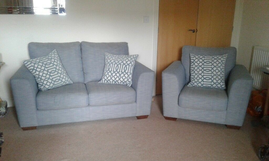M&S 2 SEATER SOFA AND ARMCHAIR | in Horsham, West Sussex ...