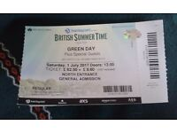 Green Day - Hyde Park, 1st July