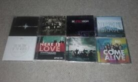 Collection of Christian Worship CDs