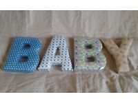 BNIP Mamas and Papas Letter Y Girls Made With Love