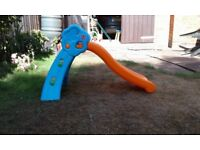 Toddler's garden slide