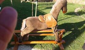 """Fluffy"" the Rocking horse"